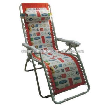 Rattan Sun Lounge & Beach Sunbed Outdoor With Cushion& Cheap Foldable Beach Lounge Chairs,highchair portable