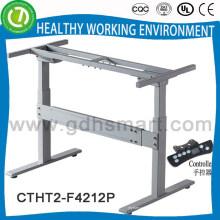 Hubhöhenversteller & Bein zur Höhenverstellung der Tischhöhe & 2-fach höhenverstellbares Tischset