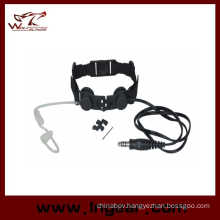 Wolf Saves Military Tactical Throat Micphone Z033