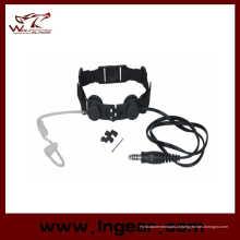Lobo salva garganta tática militar Micphone Z033