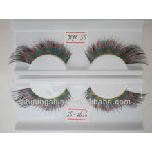 2016 hot design cheap three color false fashion bulk eyelashes