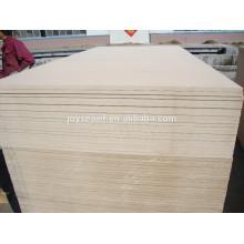 22mm 1220x2440 raw mdf ( medium density fibreboard )