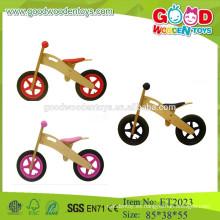 Juguetes de madera coloridos baratos de la bici del camino de los cabritos para 2015