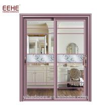 Коммерческие Алюминиевые Раздвижные Стеклянные Двери Гаражные Двери Цены Фошань Завод