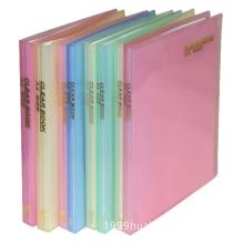 transparent light diagonal display book