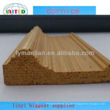 marco de puerta de madera artificial moldeado