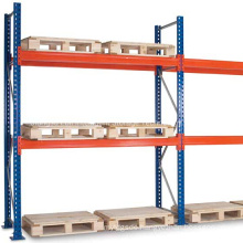 Warehouse Industry Bolted Type Teardrop Racking/Bolted Uprights