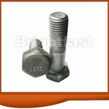 Parafusos estruturais de cabeça hexagonal pesada ASTM A325 Tipo 1