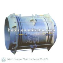 stainless steel metal below expansion joints