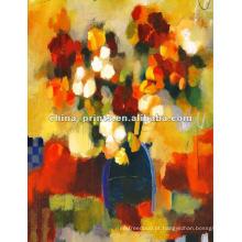 Pintura abstrata do quadro da textura