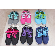 New fasion women shoe china wholesale sneaker shoes sports shoes with injection outsole