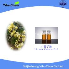 natural litsea cubeba oil in essential oil
