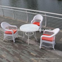 High quality waterproof outdoor garden rattan wicker dining set
