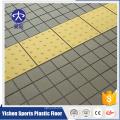 Telhas de carpete ao ar livre crossfit piso de borracha portátil