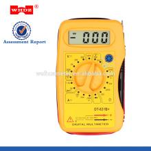 Карман-Размер цифровой мультиметр DT831B с тест батареи
