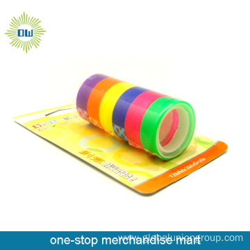 6PCS stationery tape