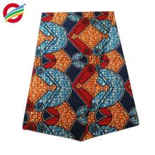 JLW-002 tejido cera africana real impresa tela de algodón 100%
