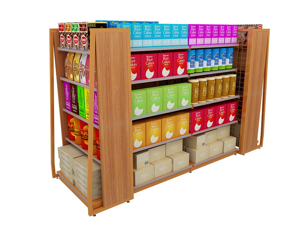 Single-Sided Display Rack