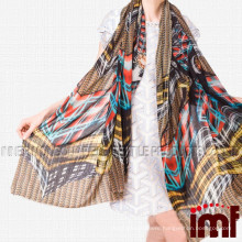 Fashion Scarf 2015 Digital Printing Cashmere