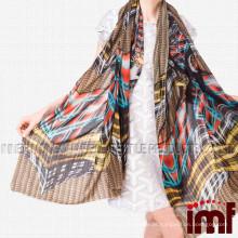 Moda Cachecol 2015 Impressão Digital Caxemira