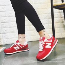 Nouvelles chaussures de course légère de femmes, chaussures de sport de mode, chaussures de sport utilisées