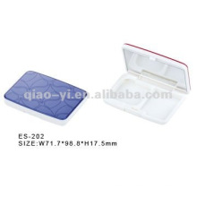 2012 beauty new square compact cases
