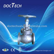 Válvula de globo con bridas ANSI de 150 LB