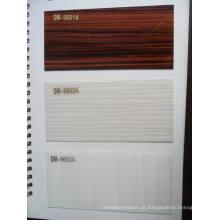 Folha acrílica do PVC Scratch resistente para armários de cozinha (ZHUV)