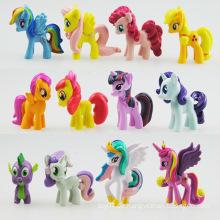 Prinzessin Pony Action Kleine Figuren mit Ce