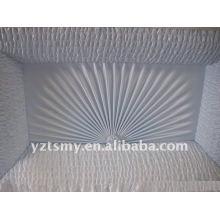 decoración interior del ataúd