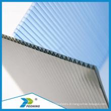 Material de alta qualidade de 4mm 100% virgem de Bayer / GE Folha de Sol e PC Embossed