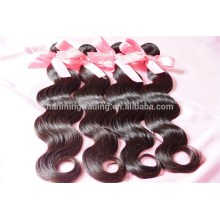 Cheaper Unprocessed Indian Human Virgin Remy Wavy Hair Extension/virgin Natural Color Hair Wholesale