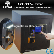 High security safe box with electronic locking system
