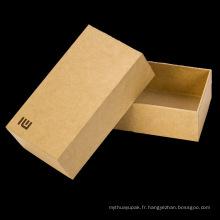 Paper Rigid Gift Box Boîte d'emballage pour bijoux