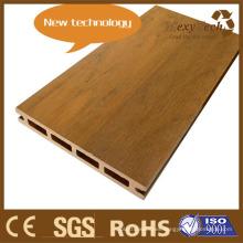 Piso exterior de madera compuesto de plataforma de madera de la calzada