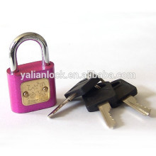 Hot Sale Cheap Red Round Corner Household Padlock