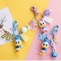 Personalized Duck Plastic Key Chains