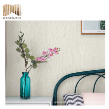 durable adhesive restaurant sticker woven wall paper for sale