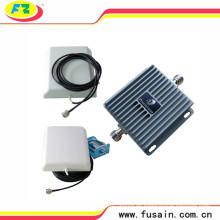 65dB Ganancia de frecuencia dual de banda Lte 850MHz / 1900MHz Amplificador de señal móvil 3G con 2 antenas direccionales de panel de alta ganancia