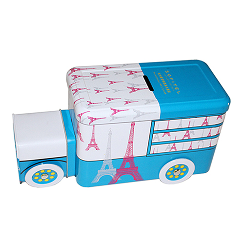 Car shape cash box