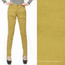 106gsm 60 * 60 160x120 algodón popelina mujer de hombre pantalones pantalones distribuidores tela de algodón gree oliva