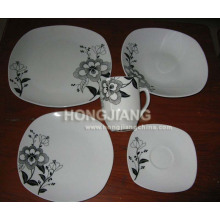 20PCS Dinner Set Square