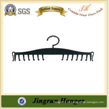 China-Fabrik-Preis-schwarzer Plastik-preiswerter Büstenhalter-Aufhänger