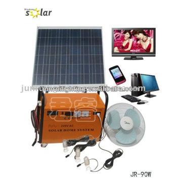 Praktische CE home Solaranlage, solar-Generator; SOLAR-HOME-SYSTEM
