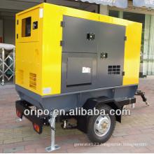 Non-stop power 60Hz 45kva generator trailer type