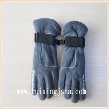 boys full finger fleece gloves