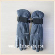 chicos completo dedo guantes de lana