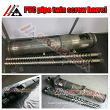 Twin Screw and Barrel for Plastic Pipe /Pvc Pipe