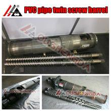 Двойной винт и цилиндр для пластиковой трубы / трубы из ПВХ