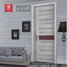Porte intérieure en bois MDF / HDF porte en bois porte coiffeuse en mélamine